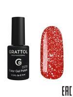 Гель-лак Grattol Bright Neon 06, 9 мл