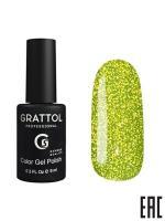 Гель-лак Grattol Bright Neon 01, 9 мл