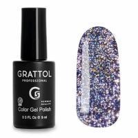 Гель-лак Grattol Bright Neon 08, 9 мл