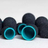 Колпачки черные d 13 мм (1 шт), супер-крупная крошка (13-060) MEDCAPS