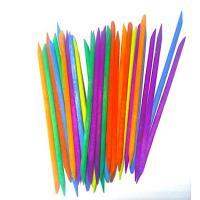 Апельсиновые палочки цветные, 100шт