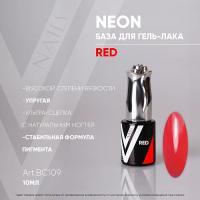 Камуфлирующая база Neon Red Vogue, 10мл