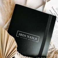 Альбом для слайдеров IBDI NAILS черный (160 карманов)
