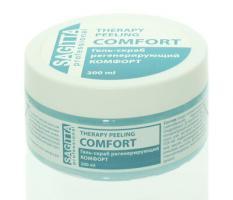 Гель-скраб регенерирующий КОМФОРТ Therapy Peeling Comfort Sagitta, 200мл