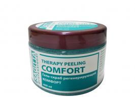 Гель-скраб регенерирующий КОМФОРТ Therapy Peeling Comfort Sagitta, 400мл