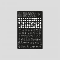 Пластина 9,5x14,5cm №001 ANGE