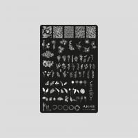 Пластина 9,5x14,5cm №003 ANGE
