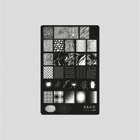 Пластина 9,5x14,5cm №005 ANGE