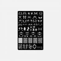 Пластина 9,5x14,5cm №006 ANGE