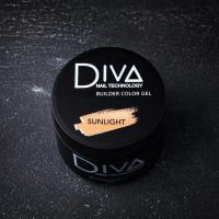 Гель камуфлирующий Builder gel Sunlight Diva, 30мл