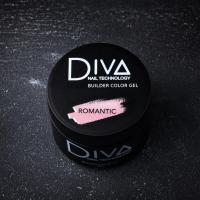 Гель камуфлирующий Builder gel Romantic Diva, 30мл