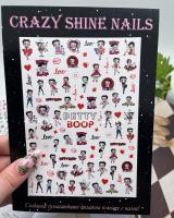 Слайдер-дизайн Бетти Бул Crazy Shine Nails (арт 2039)