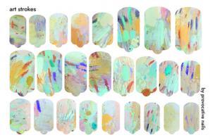 Термопленка Art Strokes By Provocative Nails