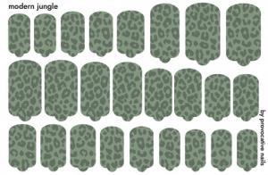 Термопленка Modern jungle By Provocative Nails