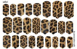 Термопленка Safari By Provocative Nails