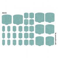 Термопленки для педикюра Denim By Provocative Nails