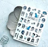 Слайдер-дизайн 002 синий Simple Slider