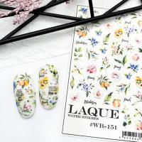 Cлайдер дизайн #WB-151 Laque Stikers