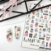 Cлайдер дизайн #WB-133 Laque Stikers