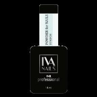 Идеальный глянцевый топ Powder for nails FINISH IvaNails, 14ml