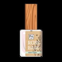 Камуфлирующая база - розовая ROSE MILT BASE COAT IvaNails, 10ml