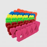 Разделители для пальцев ног мультицвет, 30 пар