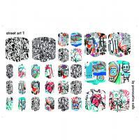 Термопленки для педикюра Street art By Provocative Nails