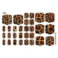 Термопленки для педикюра Safari By Provocative Nails