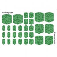 Термопленки для педикюра Modern jungle By Provocative Nails