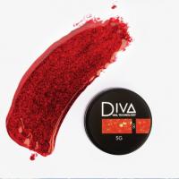 Глиттер-гель 01 Diva, 5мл