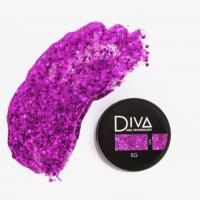 Глиттер-гель 04 Diva, 5мл