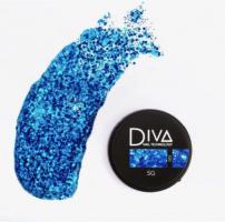 Глиттер-гель 05 Diva, 5мл