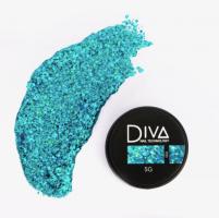Глиттер-гель 06 Diva, 5мл