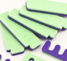 Разделители для пальцев ног, 25 пар (цвет в ассорт)
