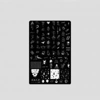 Пластина 9,5x14,5cm №008 ANGE