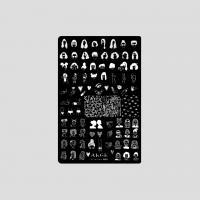 Пластина 9,5x14,5cm №011 ANGE