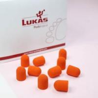 Колпачки оранжевые d 10 мм (1 шт), средняя крошка (10-150)