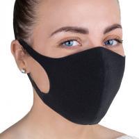 Угольная маска, черная
