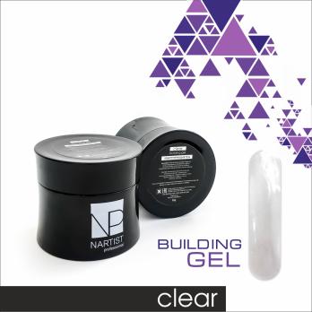 Gel building Clear 50 g Nartist
