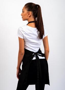Фартук Black Nylon с вышивкой Nartist