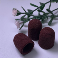 Колпачки коричневые 13-080, 1шт