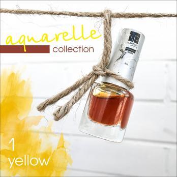 Акварельные капли Nartist Watercolor drops №1 yellow (желтые), 5мл