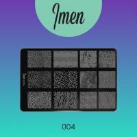 Пластина для стемпинга 04 Imen