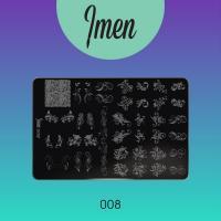 Пластина для стемпинга 08 Imen