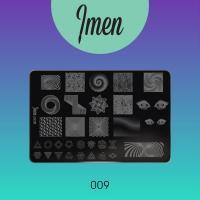 Пластина для стемпинга 09 Imen