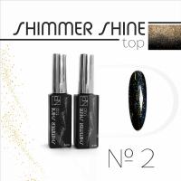 Топ с шиммером Nartist Top Shimmer Shine №2, 6мл