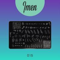 Пластина для стемпинга 15 Imen