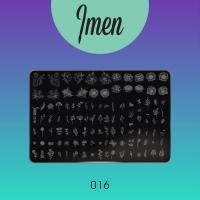 Пластина для стемпинга 16 Imen