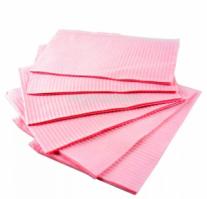 Салфетки для стола 33х45, 10шт розовые