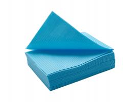 Салфетки для стола 33х45, 10шт голубые